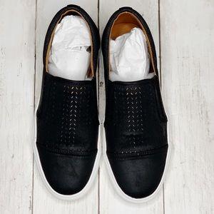 NEW Steve Madden Black Valene Slip-On Sneakers 8